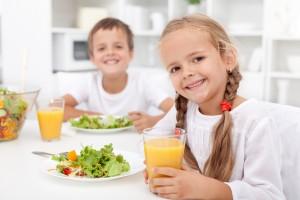healthy kids and healthy teeth